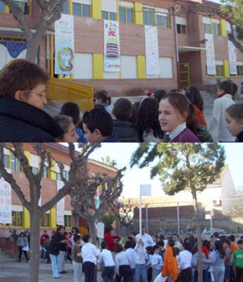 El 30 de Enero, Día de la Paz, el colegio se vistió de Fiesta