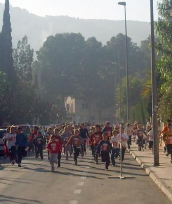 Corrimos por las calles